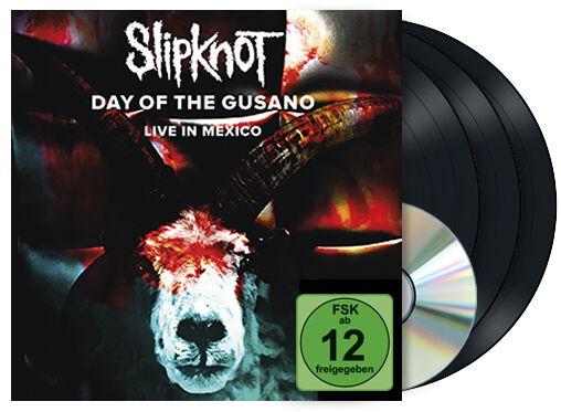 Image of   Slipknot Day of the Gusano 3-LP & DVD standard