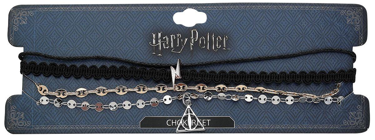 Image of   Harry Potter Choker Set Halsbånd multifarvet