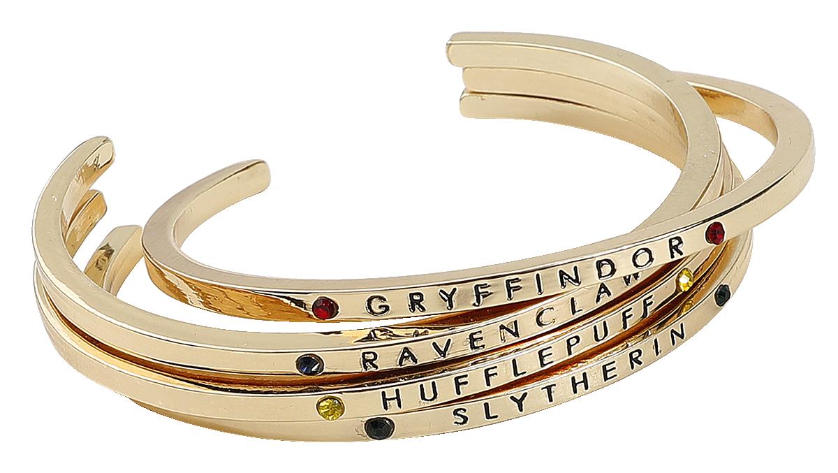 Harry Potter - Houses - Bracelet - gold-coloured