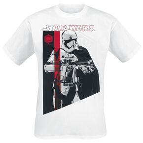 Star Wars Episode 8 - The Last Jedi - Captain Phasma T-shirt blanc