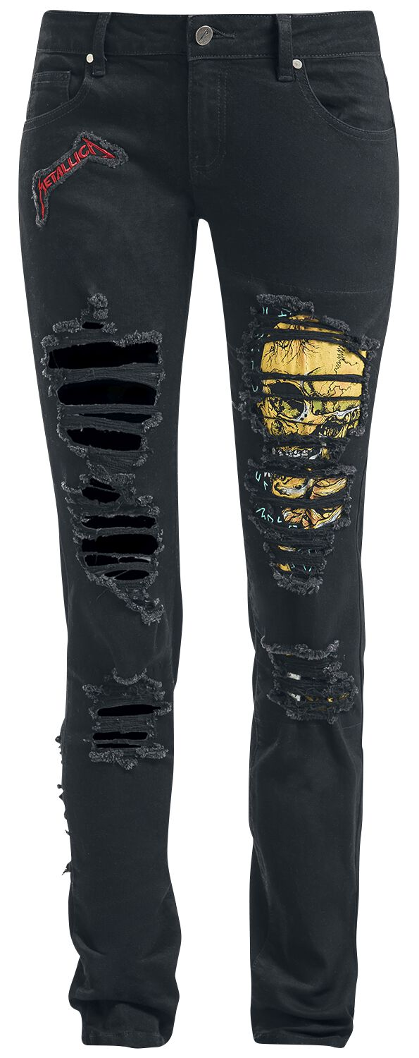 Image of   Metallica EMP Signature Collection Girlie jeans sort