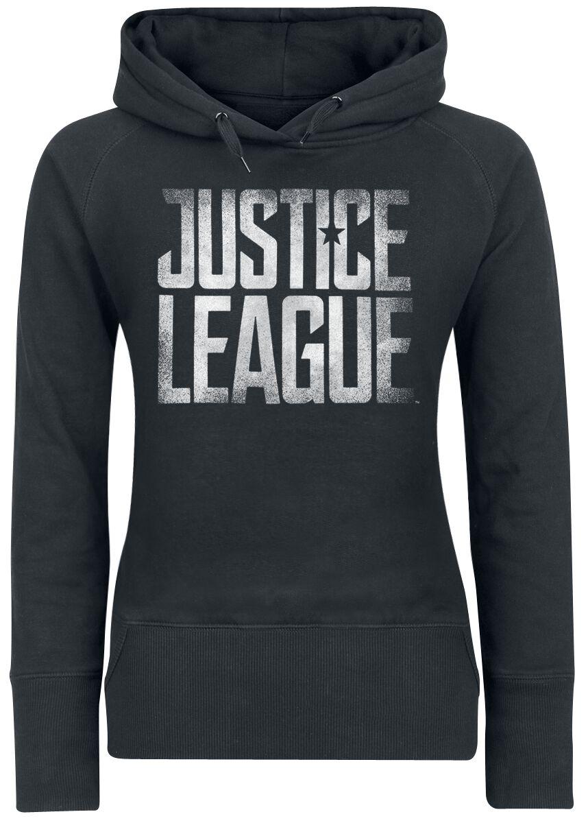Image of   Justice League Dark Knight Squad Girlie hættetrøje sort