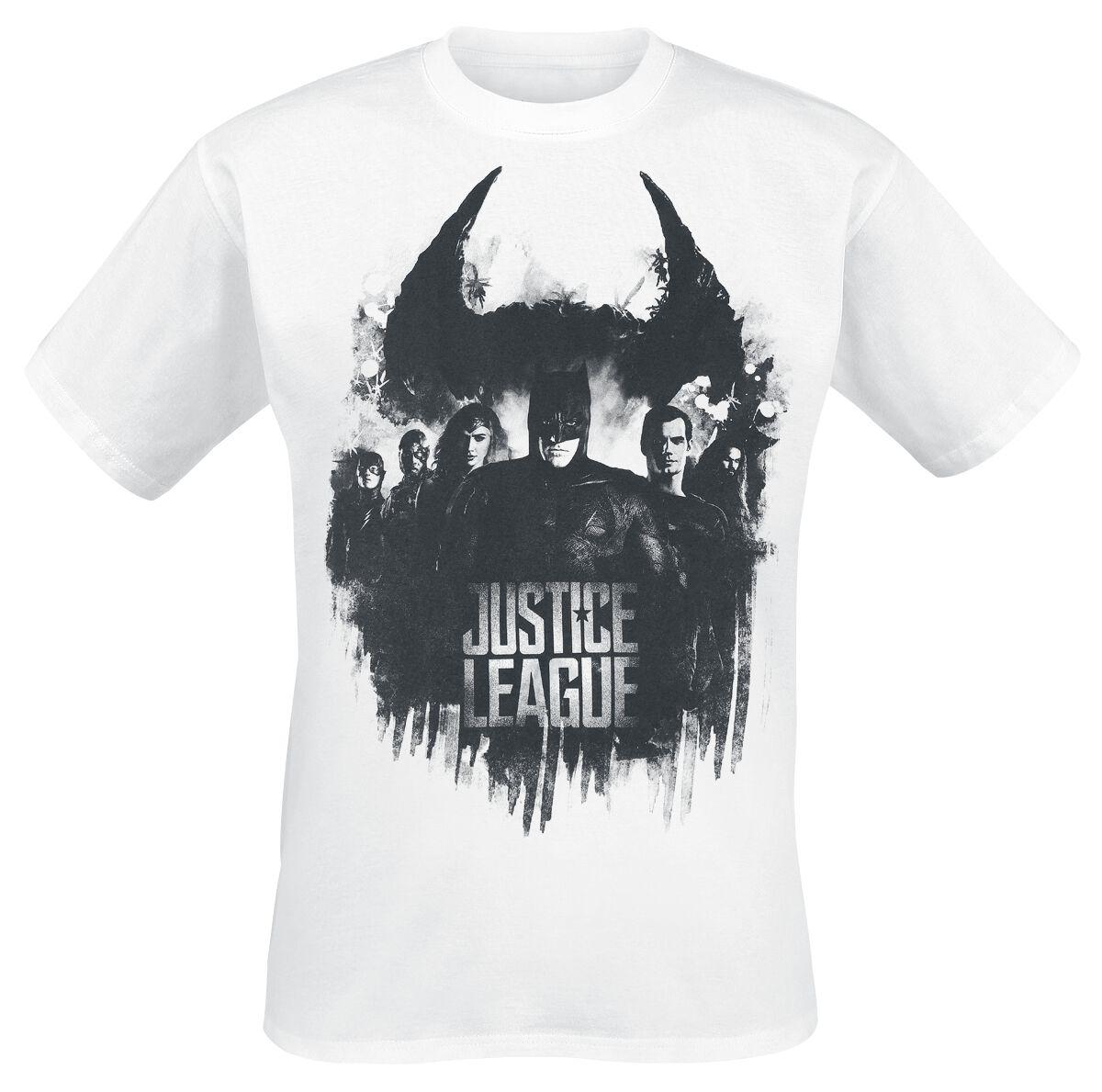 Image of   Justice League Splatter Squad T-Shirt hvid