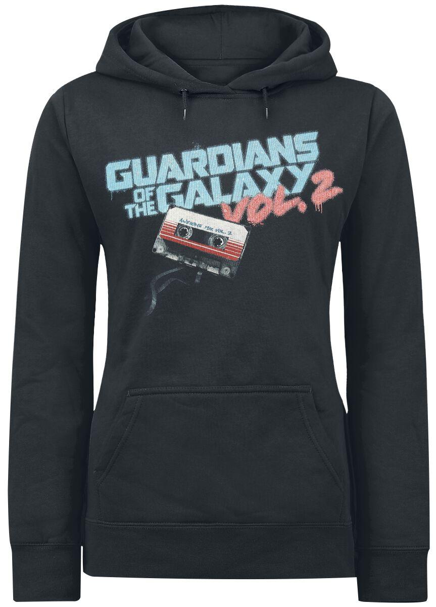 Image of   Guardians Of The Galaxy 2 - Groot Tape Girlie hættetrøje sort