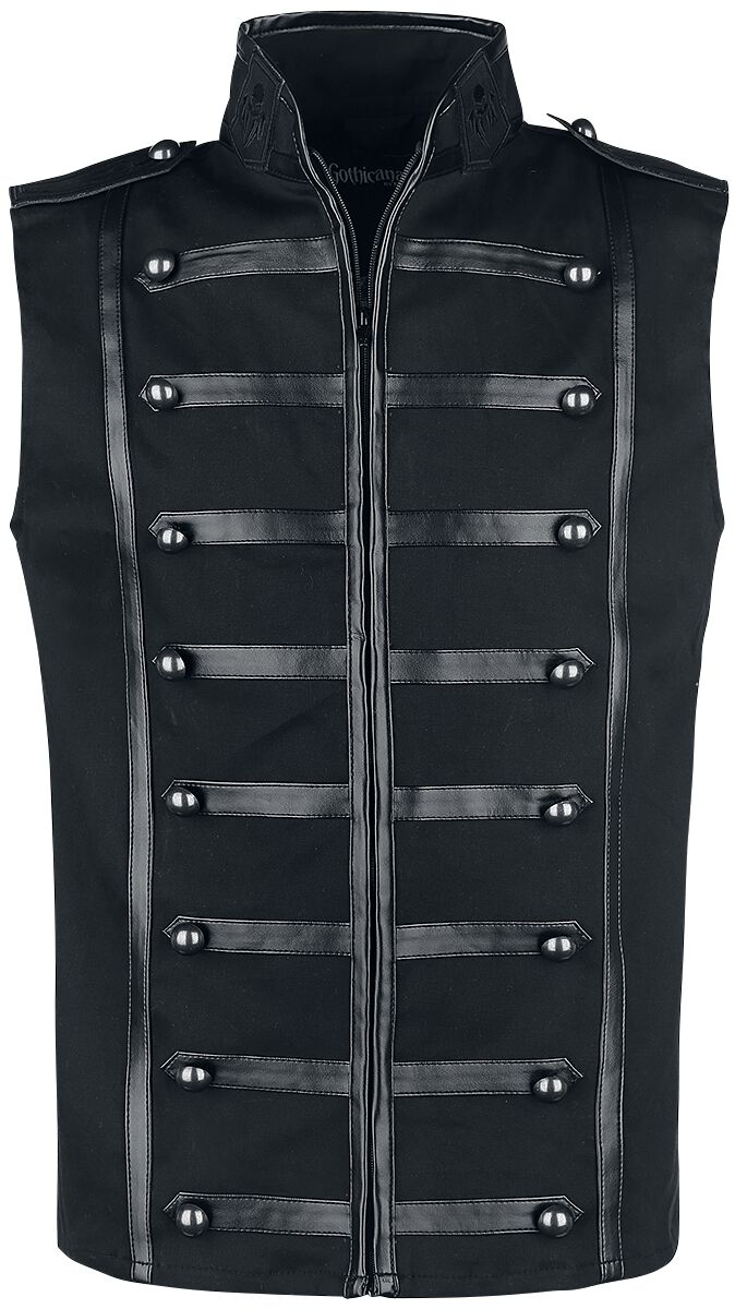 Image of   Gothicana by EMP Halphas Vest sort