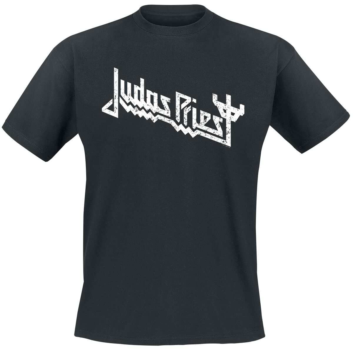 Image of   Judas Priest Logo T-Shirt sort