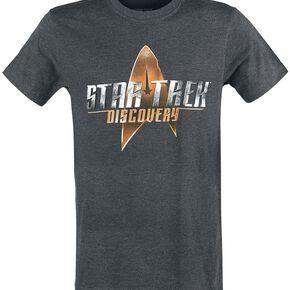 Star Trek Discovery T-shirt gris chiné