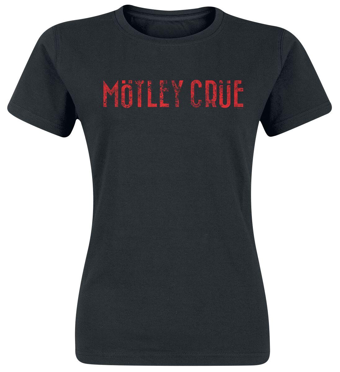 Zespoły - Koszulki - Koszulka damska Mötley Crüe Logo Koszulka damska czarny - 368524