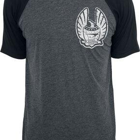 Star Trek Starfleet Academy T-shirt gris chiné/noir