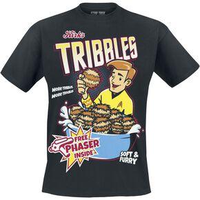 Star Trek Tribbles T-shirt noir