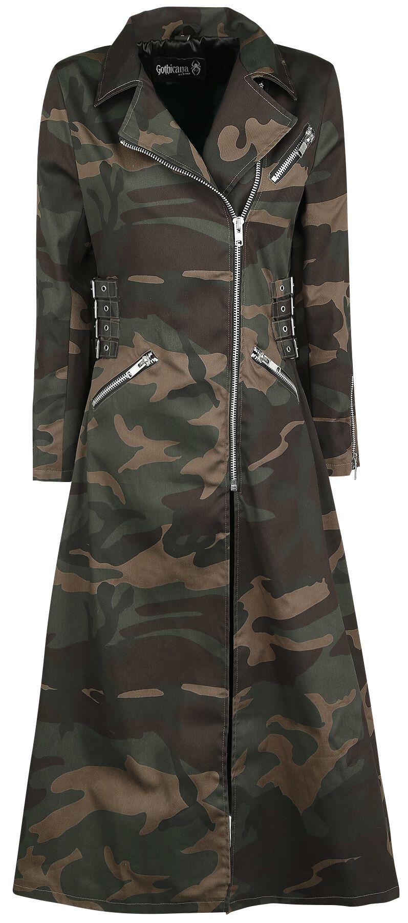 Image of   Gothicana by EMP Duna Girlie frakke camouflage