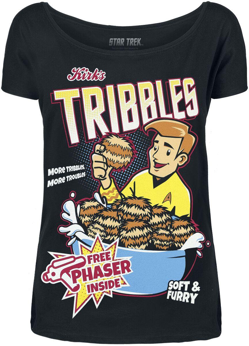 Star Trek Tribbles Koszulka damska czarny