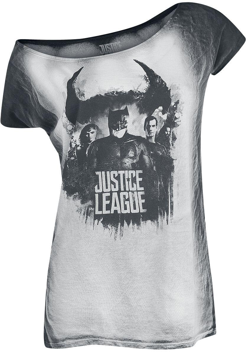 Image of   Justice League Shadow Girlie trøje grå