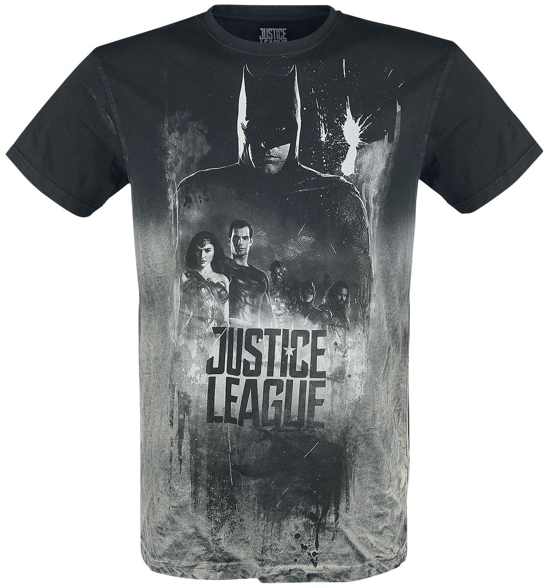 Image of   Justice League Shadow T-Shirt grå