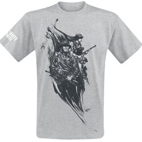 Call Of Duty WWII - Smoke Soldier T-shirt gris chiné