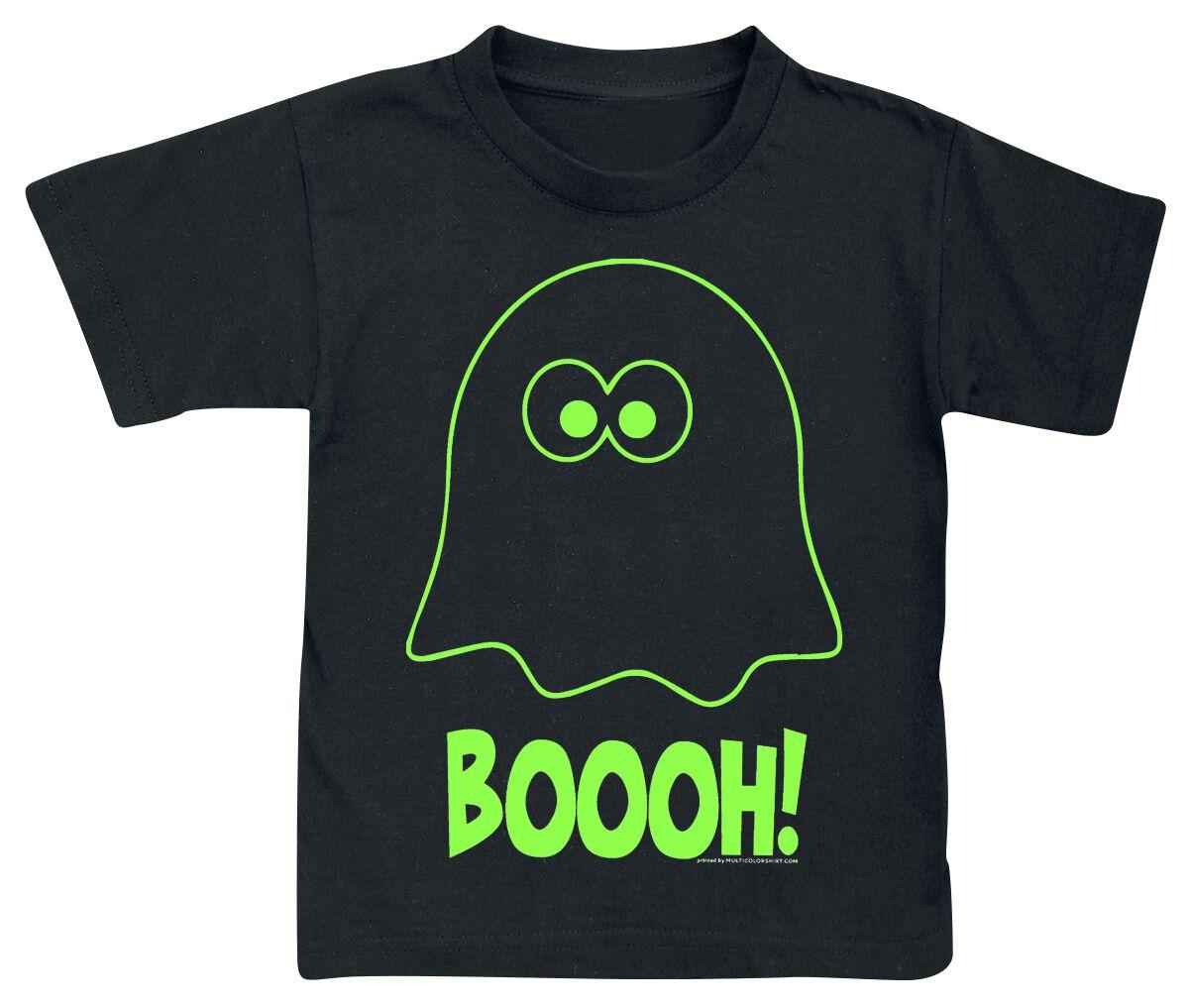 Fun Shirts - Odzież dziecięca i niemowlęca - Koszulka dziecięca Geist Boooh! Koszulka dziecięca czarny - 368614