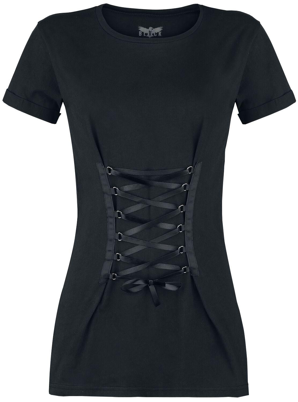 Black Premium by EMP Tie You Up Koszulka damska czarny