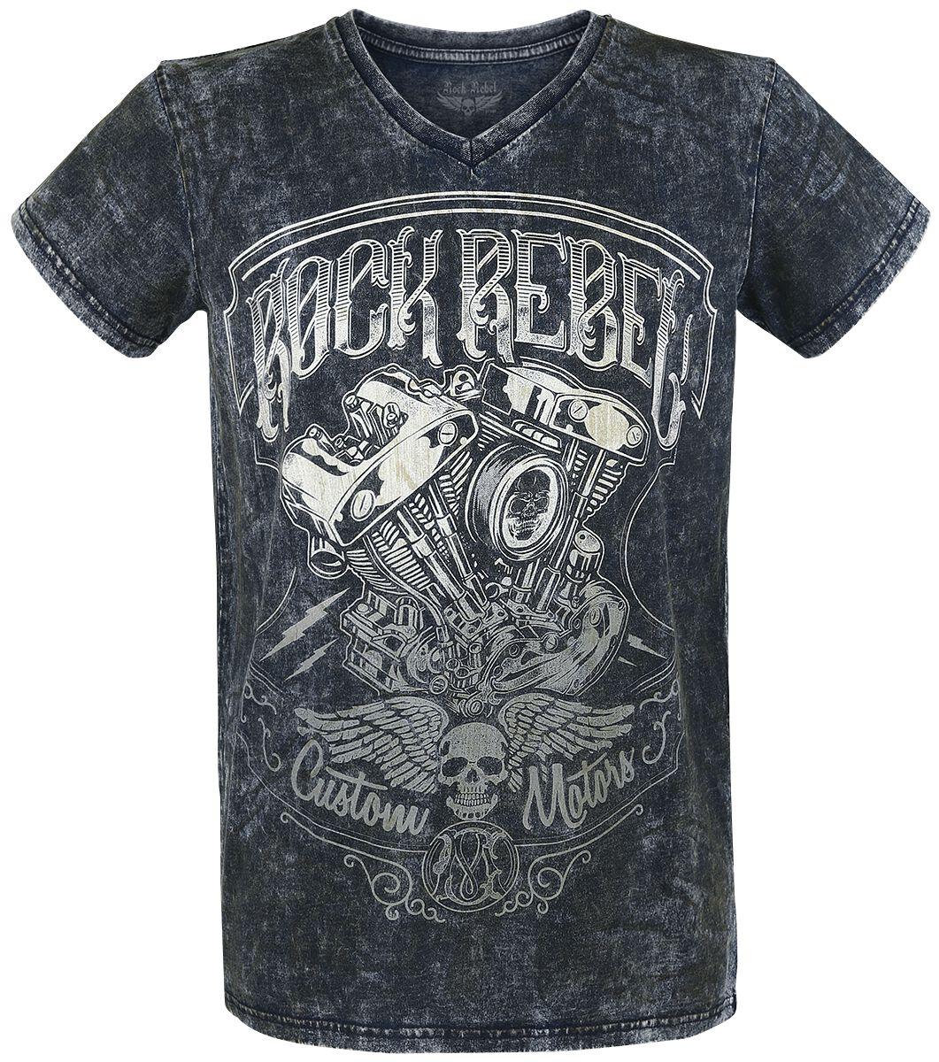 Image of   Rock Rebel by EMP Heavy Soul T-Shirt blå
