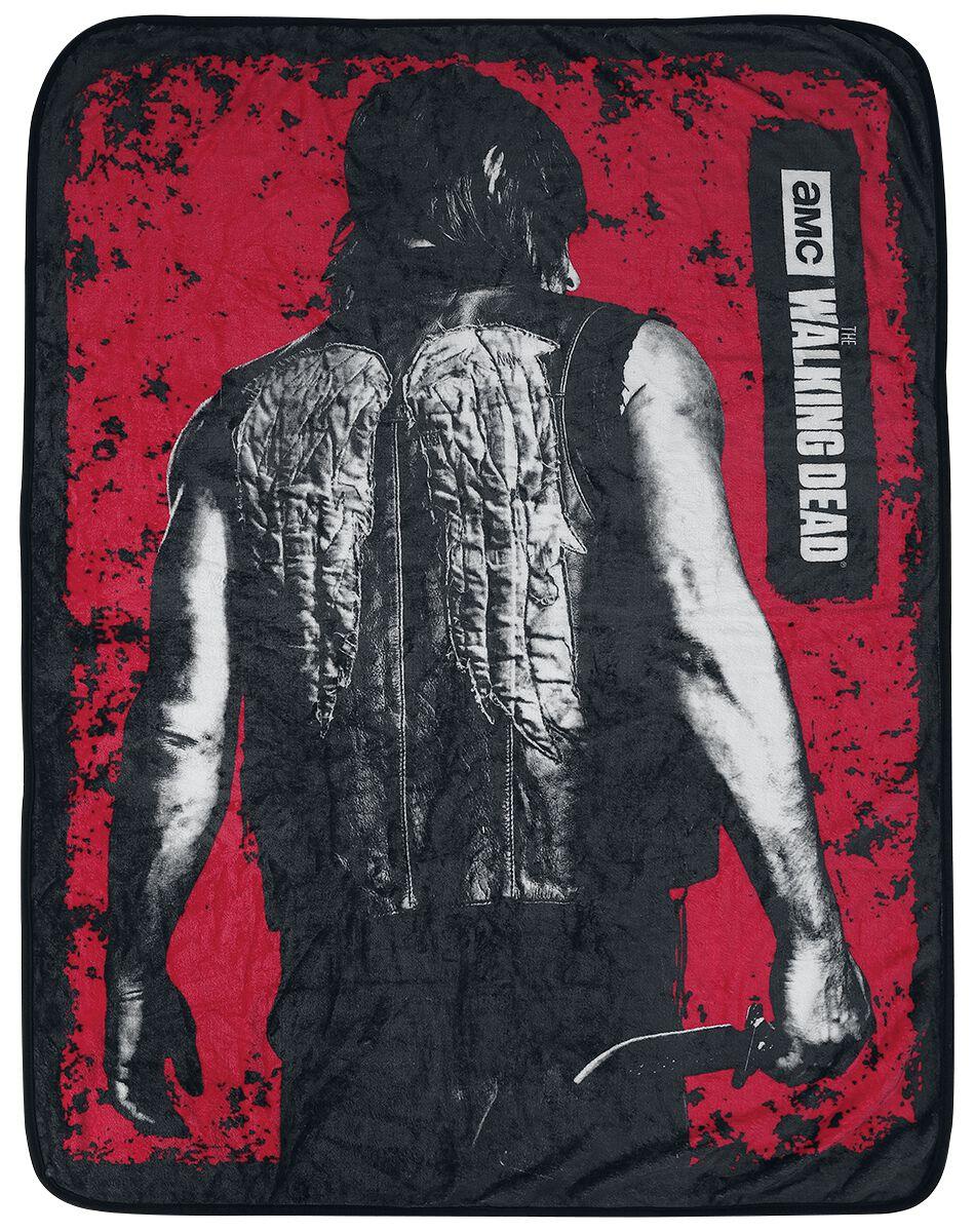 Image of   The Walking Dead Daryl Dixon fleecetæppe Fleecetæppe multifarvet