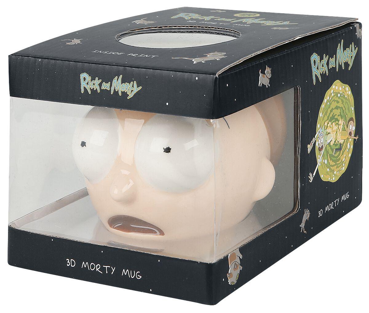 Image of   Rick And Morty Morty 3D Krus multifarvet