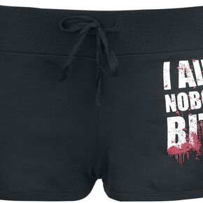 The Walking Dead Hands Off Short Femme noir