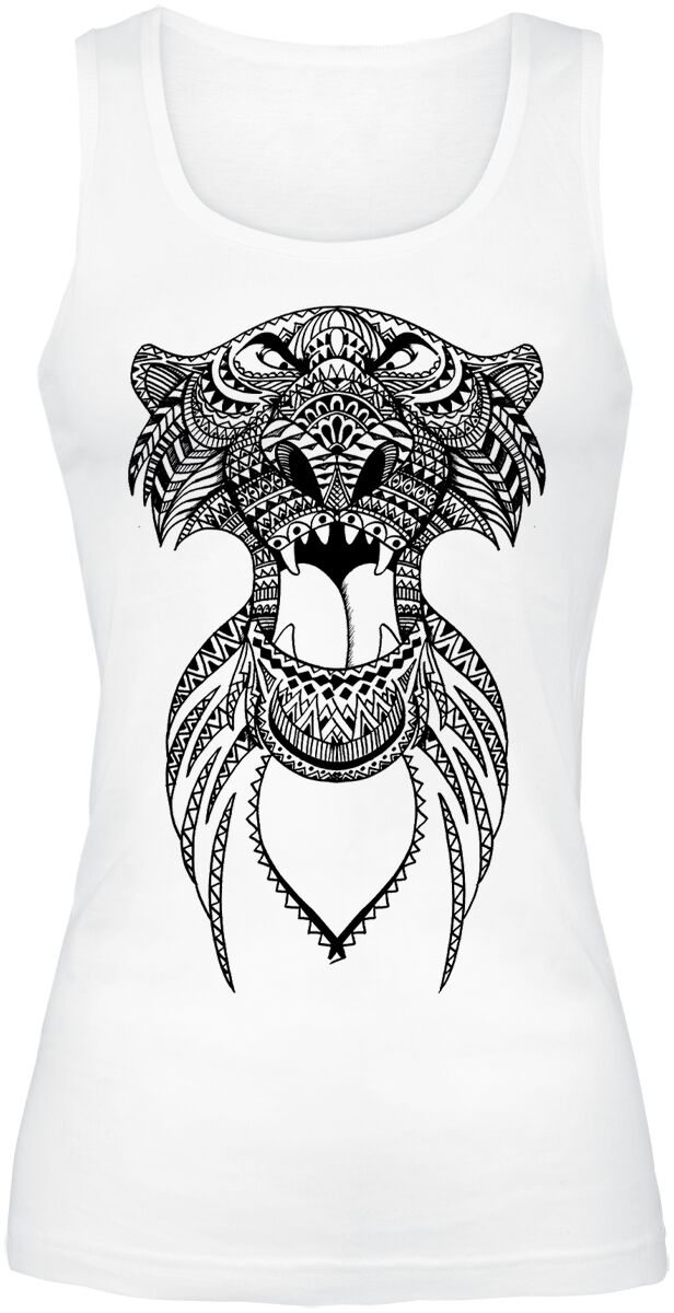 Merch dla Fanów - Topy - Top damski The Jungle Book Shir Khan Top damski biały - 368690