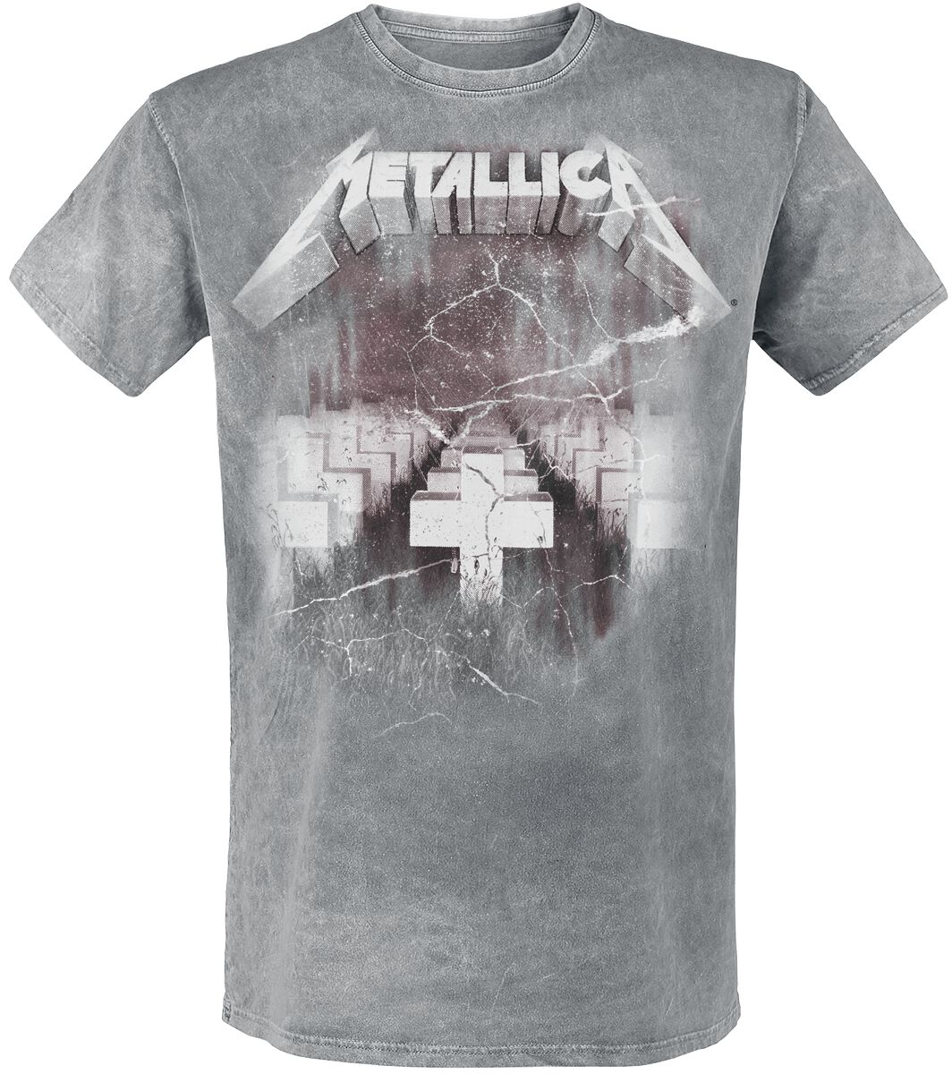 Metallica MoP Cover - Männer - hellgrau