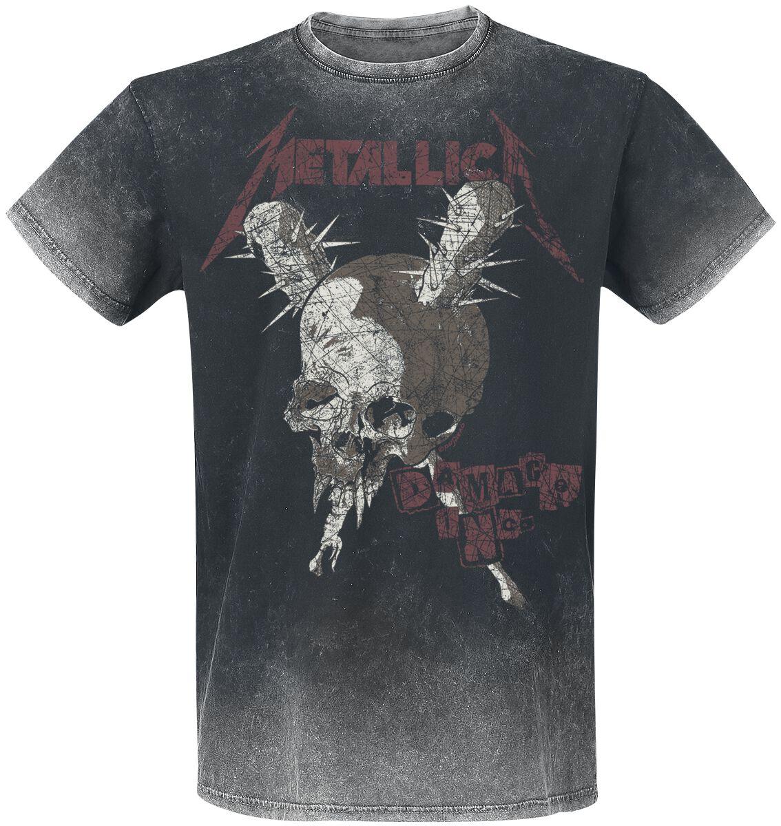 Metallica Damage Inc - Männer - dunkelgrau
