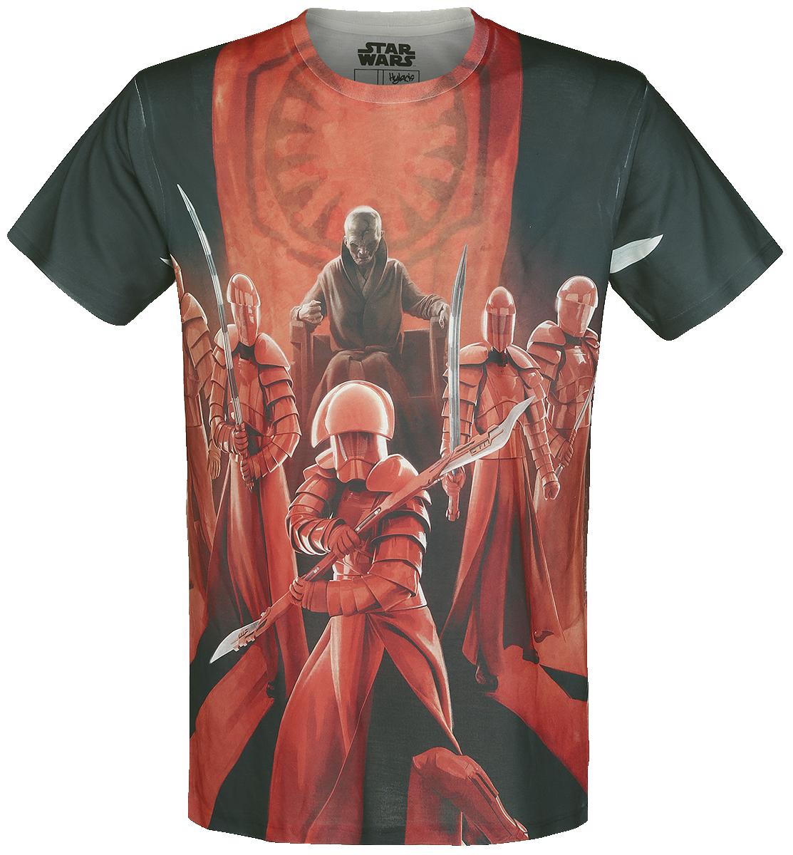 Star Wars Episode 8 - Die letzten Jedi - Snoke Praetorian Guards T-Shirt multifarvet