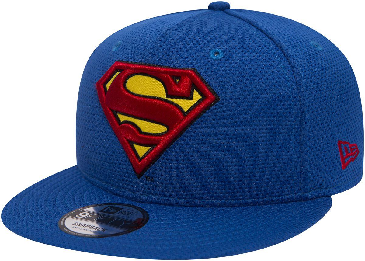 Merch dla Fanów - Czapki i Kapelusze - Czapka New Era Superman New Era 9Fifty Superman Logo Czapka New Era niebieski - 368815
