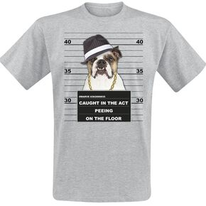 mug shot T-shirt gris