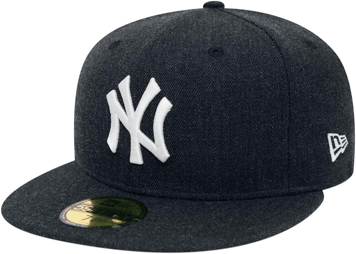 Basics - Czapki i Kapelusze - Czapka New Era New Era 59Fifty Seasonal Heather MLB New York Yankees Czapka New Era szary - 368839
