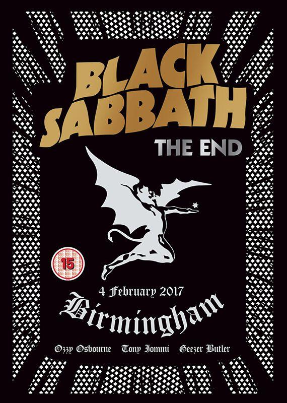Image of   Black Sabbath The end (Live in Birmingham) DVD standard