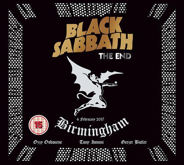 Image of   Black Sabbath The end (Live in Birmingham) DVD & CD standard