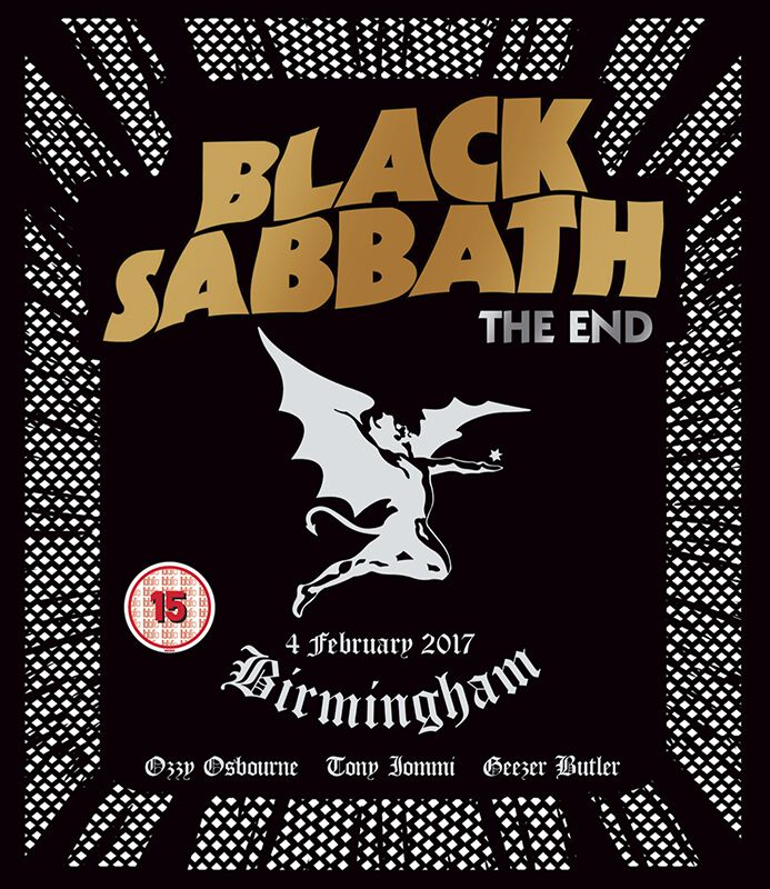 Image of   Black Sabbath The end (Live in Birmingham) Blu-ray & CD standard