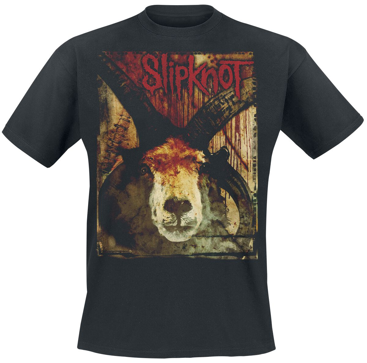 Image of   Slipknot Goat and Blood T-Shirt sort