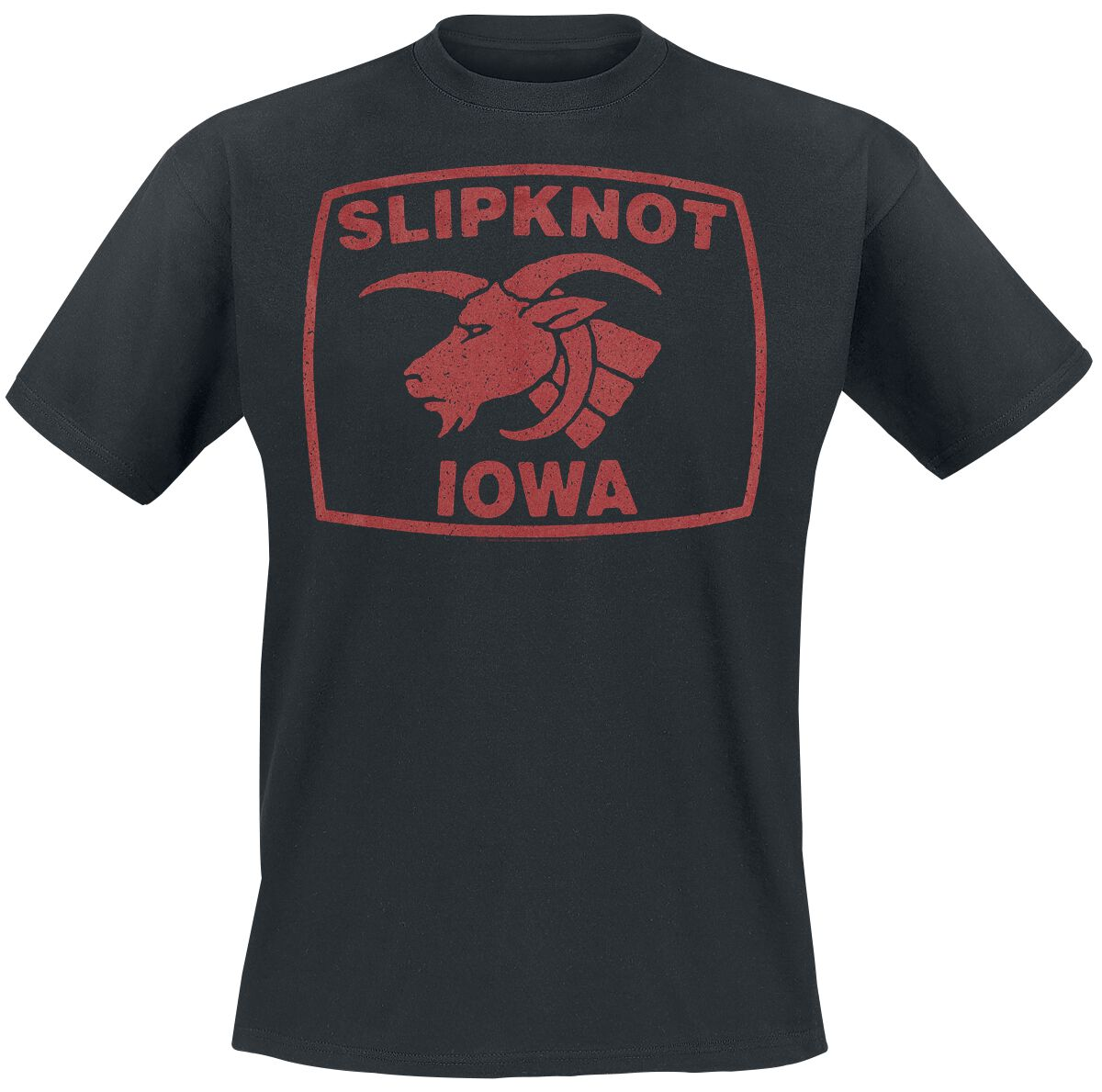 Image of   Slipknot Goat Seal T-Shirt sort
