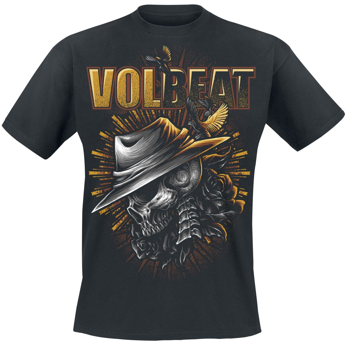 Image of   Volbeat Heaven & Hell T-Shirt sort