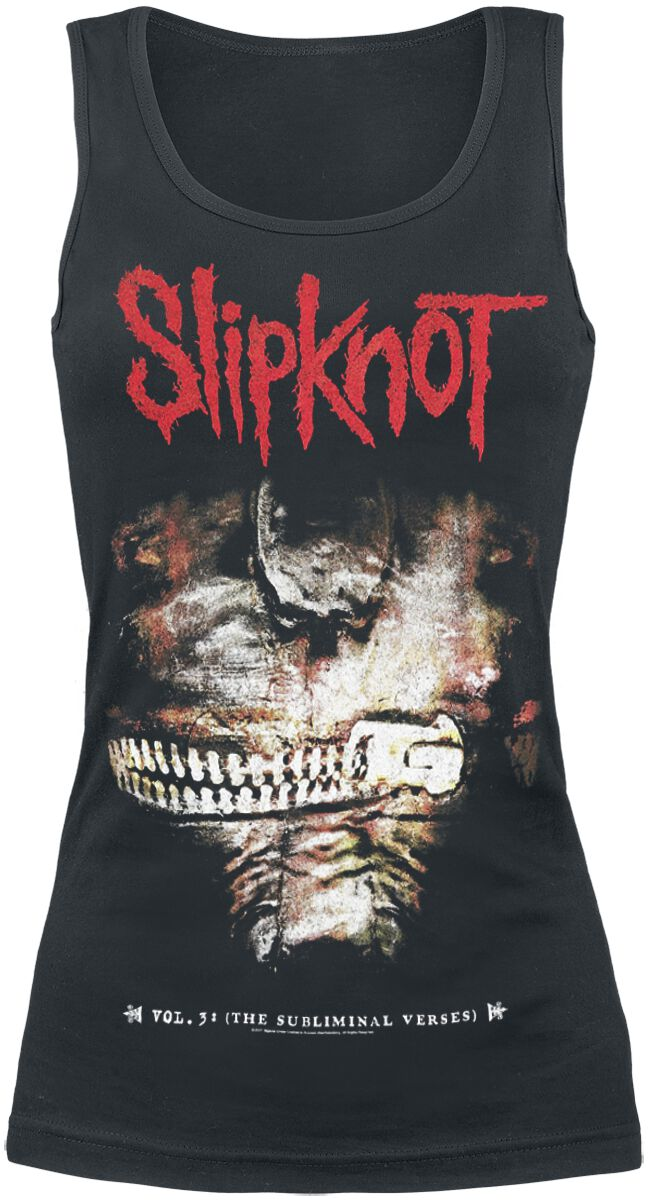Image of   Slipknot Vol.3: The subliminal verses Girlie top sort