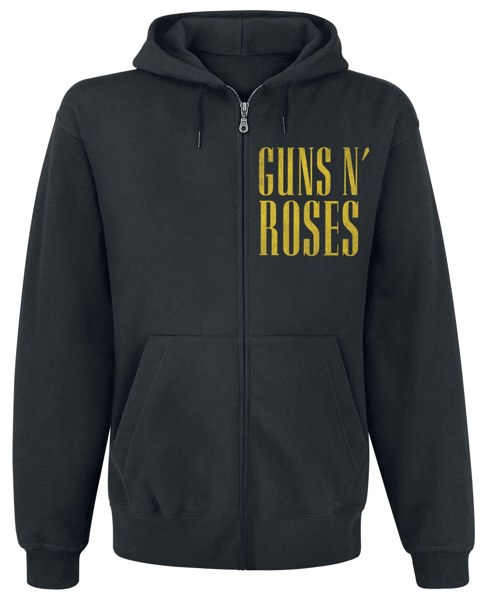 Image of   Guns N' Roses Skull N Shades Hættejakke sort