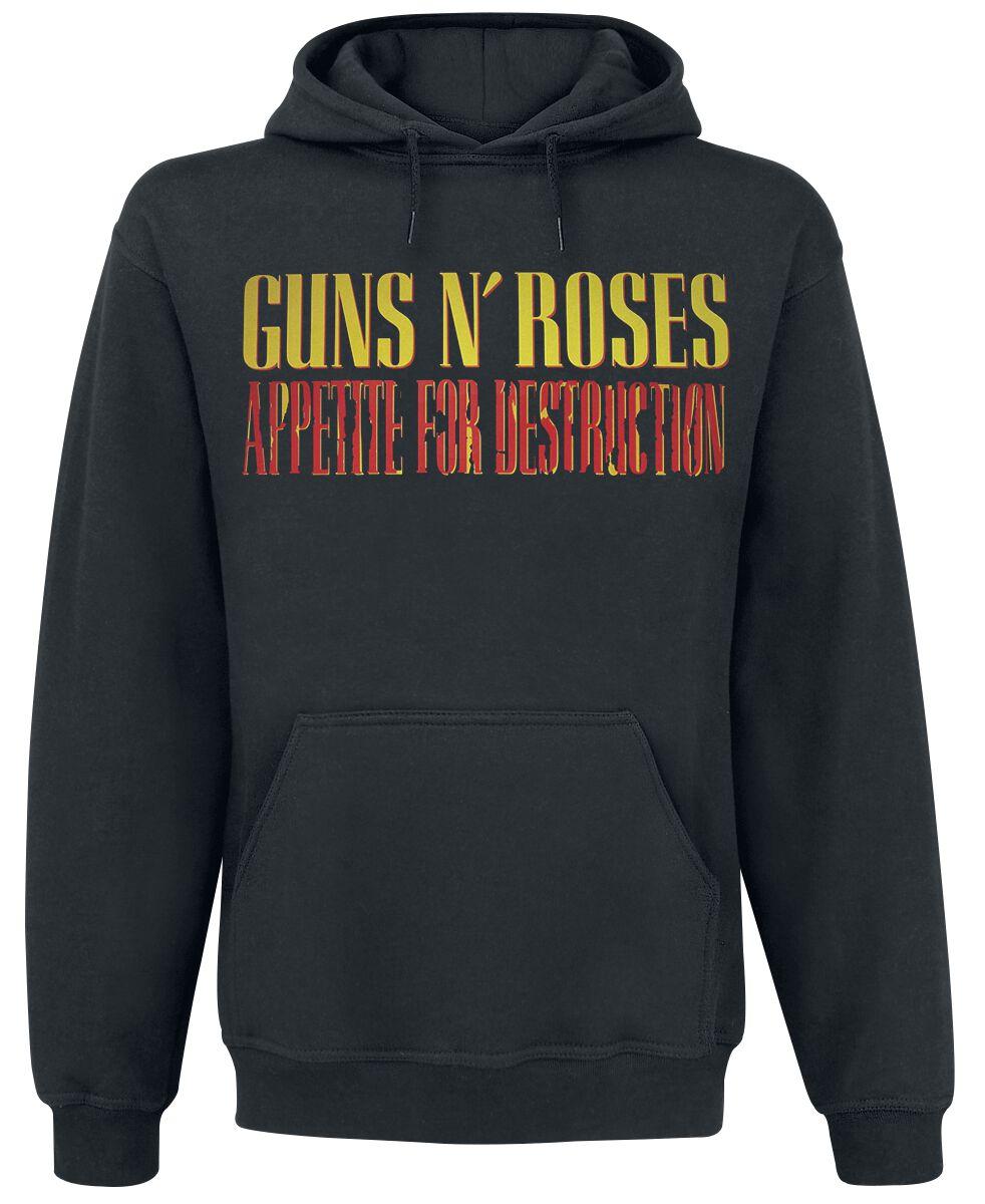 Image of   Guns N' Roses Appetite Attack Hættetrøje sort