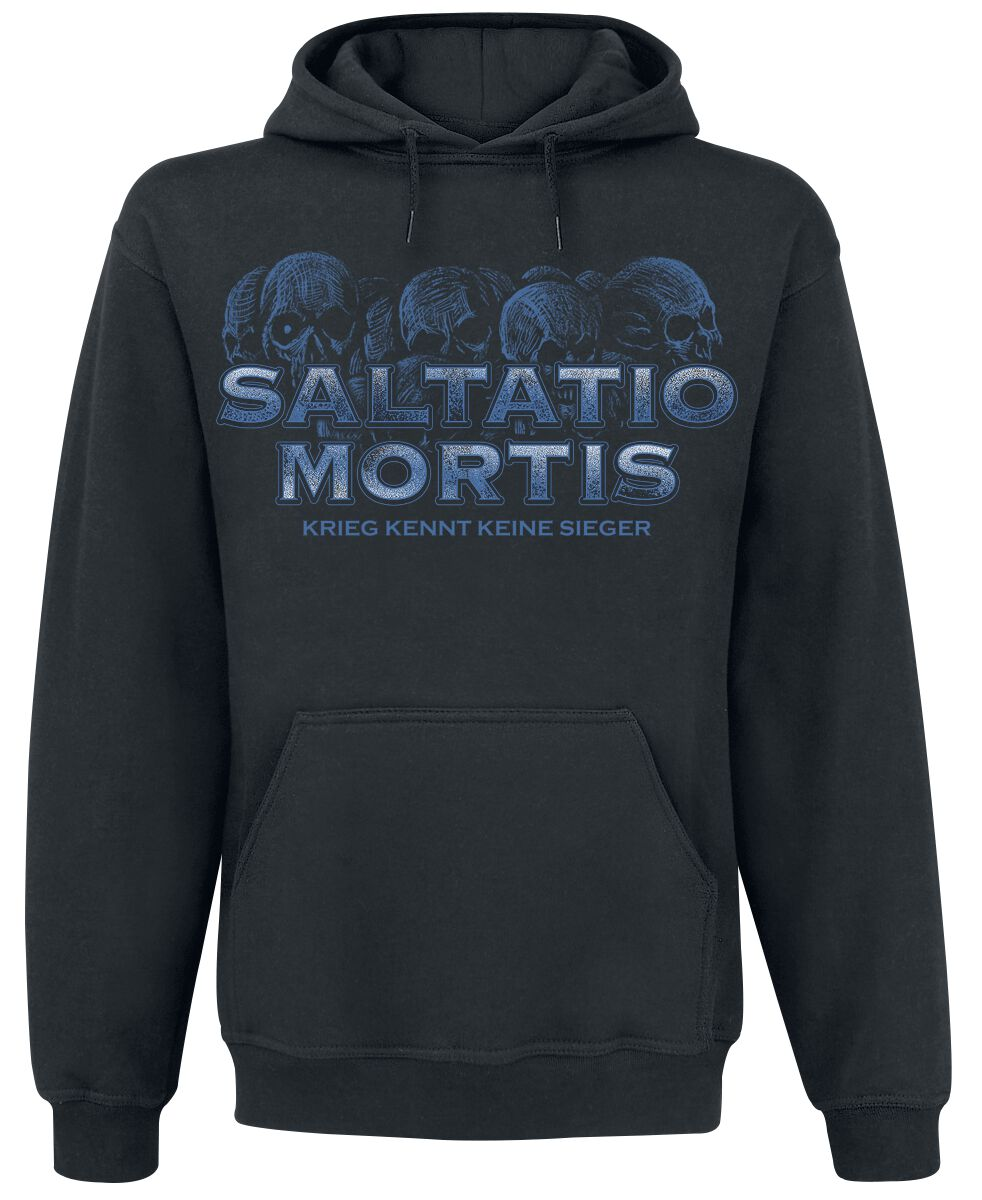 Zespoły - Bluzy z kapturem - Bluza z kapturem Saltatio Mortis Keine Sieger Bluza z kapturem czarny - 368896