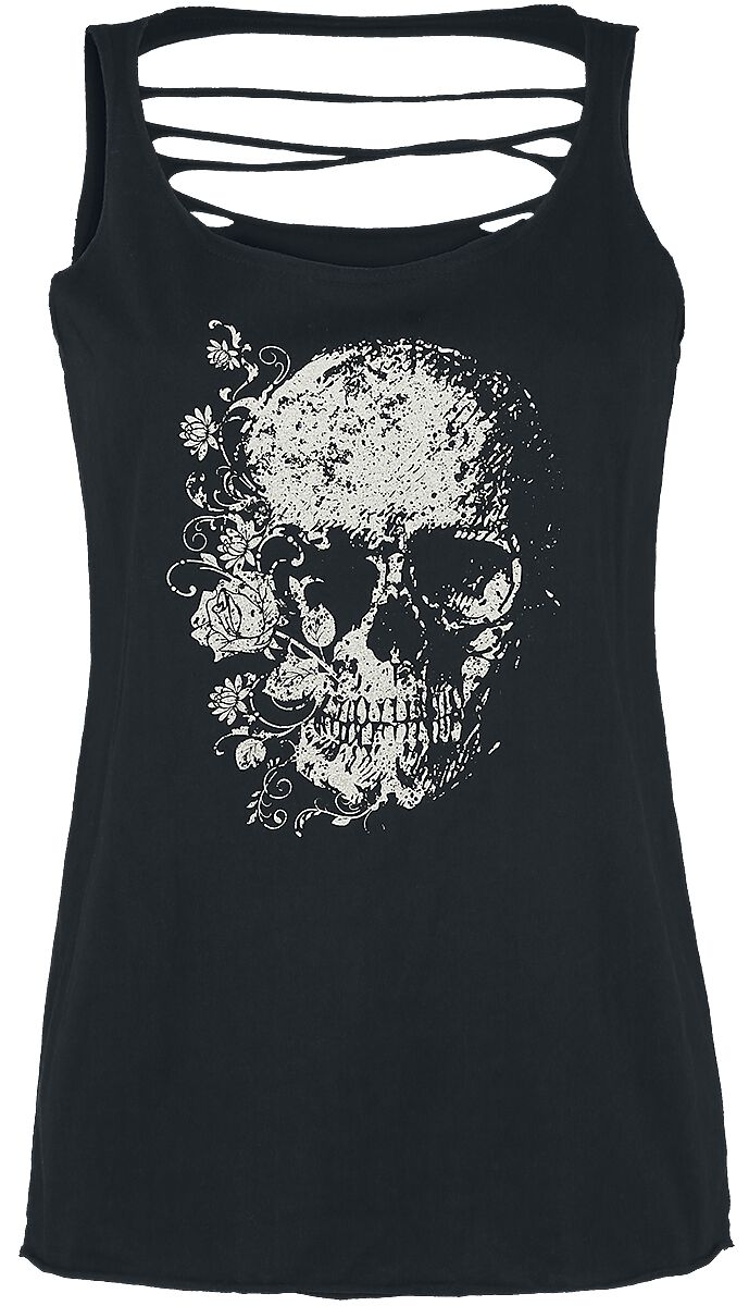 Image of   Black Premium by EMP Back To The Beginning Again Girlie top sort