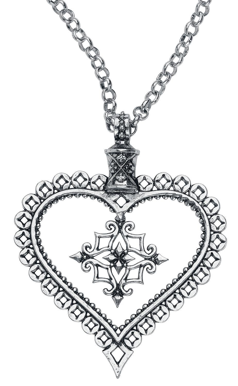 Ketten für Frauen - Mysterium® Relic Heart Halskette silberfarben  - Onlineshop EMP