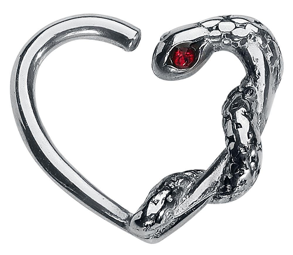 Image of   Wildcat Continuous Ring Snake Piercing sølvfarvet