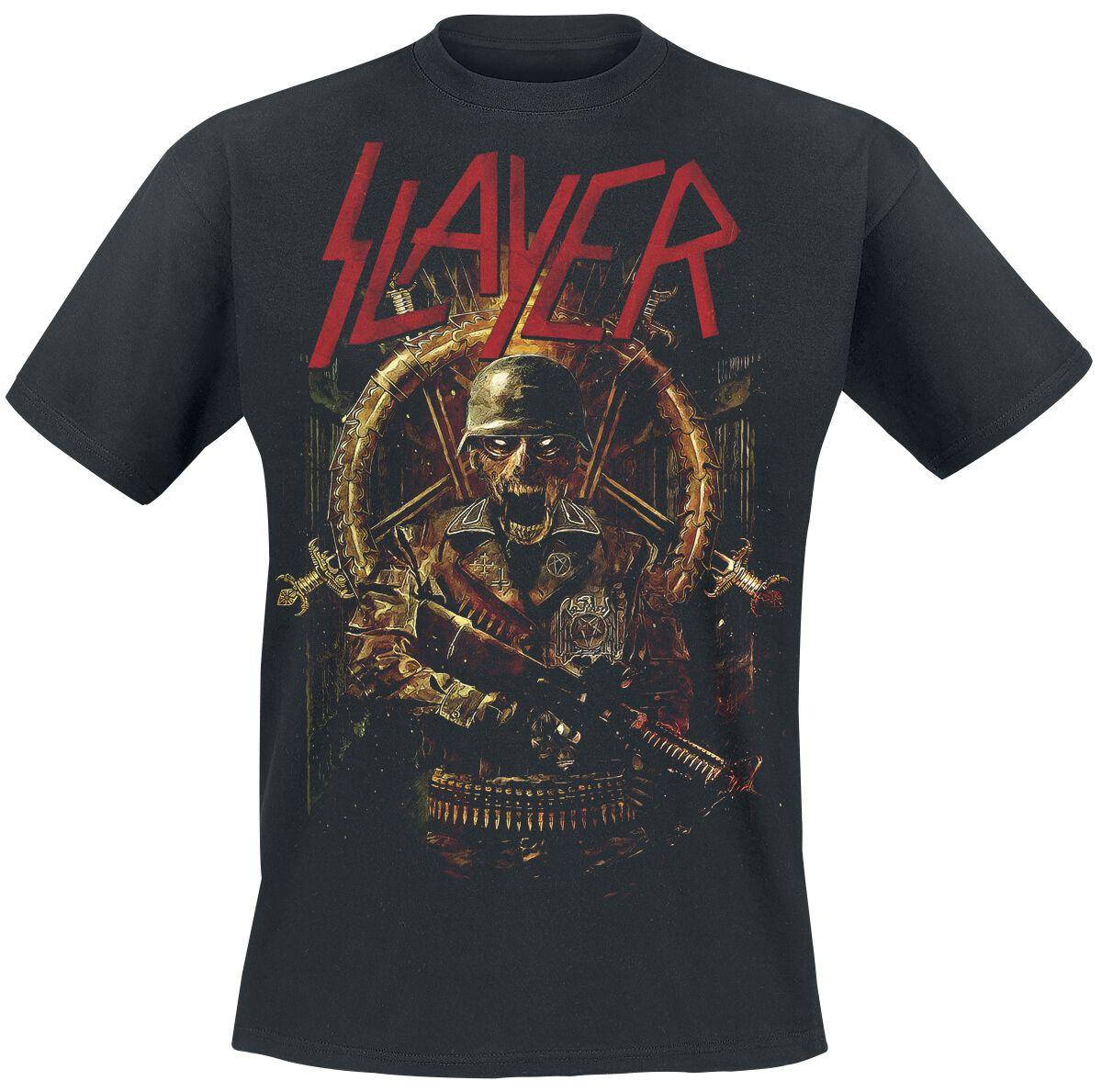 Image of   Slayer Comic Book Cover T-Shirt sort