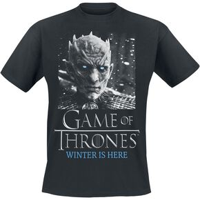 Game Of Thrones Nightking - White Walker T-shirt noir