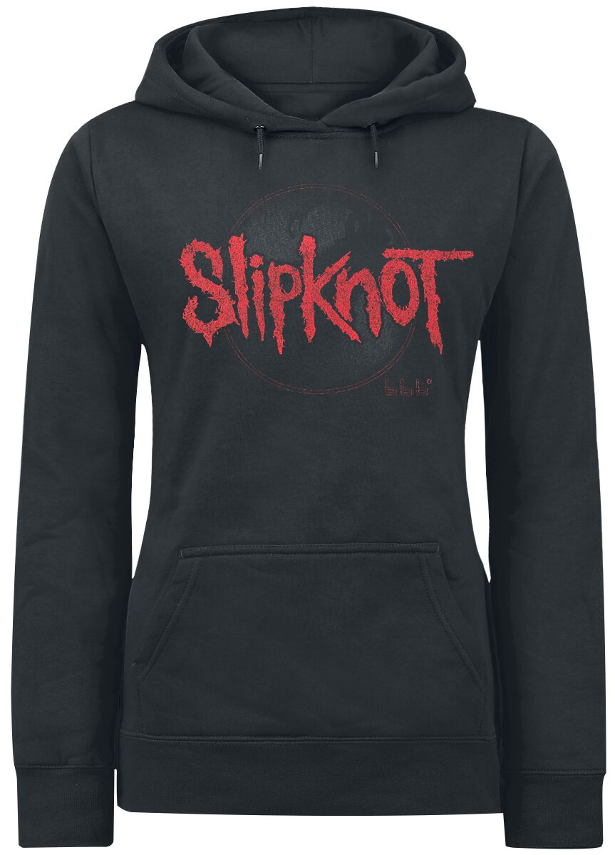 Image of   Slipknot Iowa Album Cover Girlie hættetrøje sort