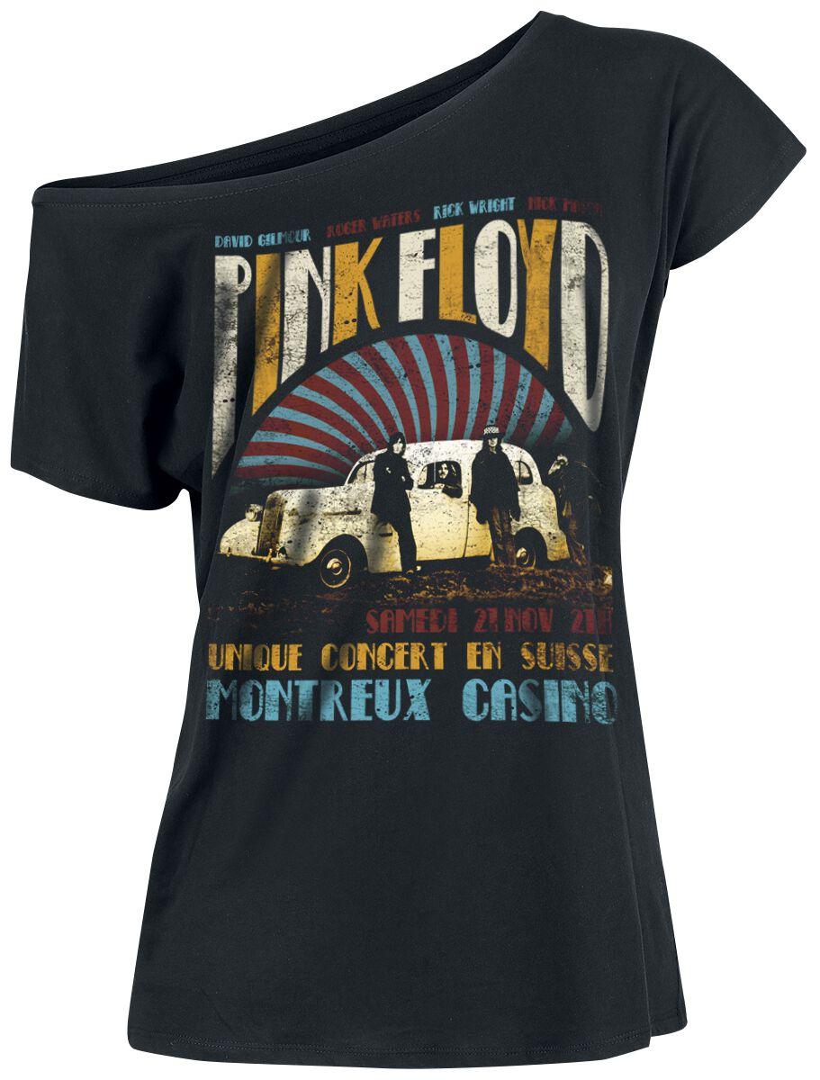 Image of   Pink Floyd Montreux Casino Girlie trøje sort