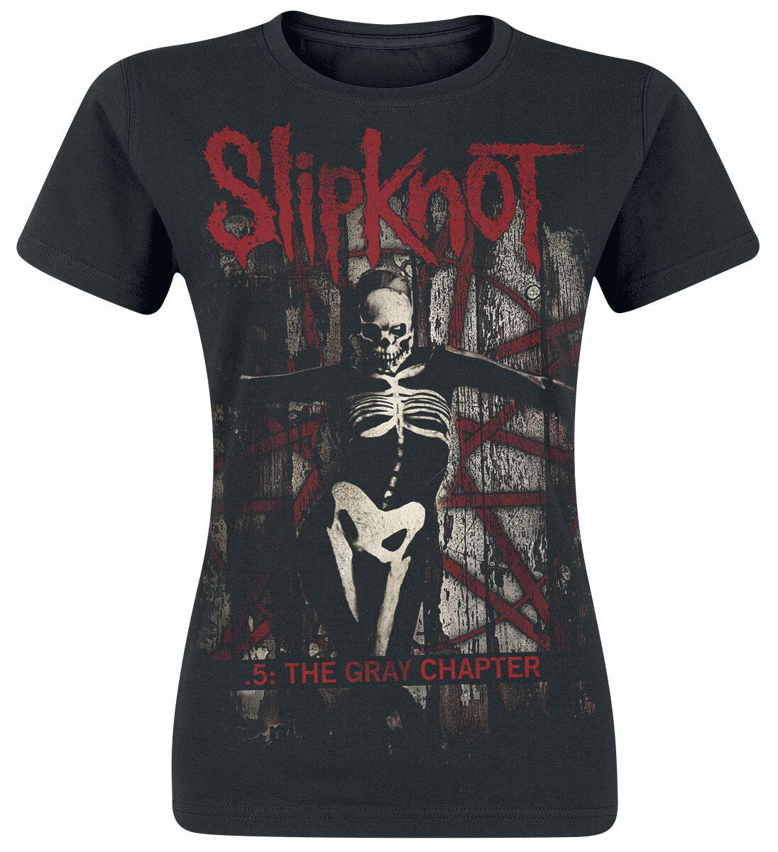 Image of   Slipknot The Gray Chapter Girlie trøje sort